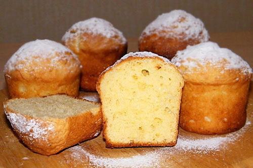 Творожный кекс по рецепту любимой бабули