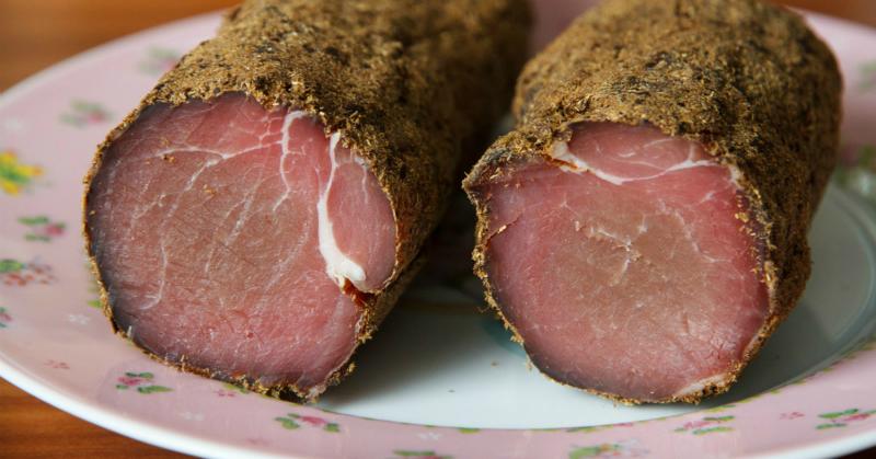 Домашнее сыровяленое мясо – Полендвица