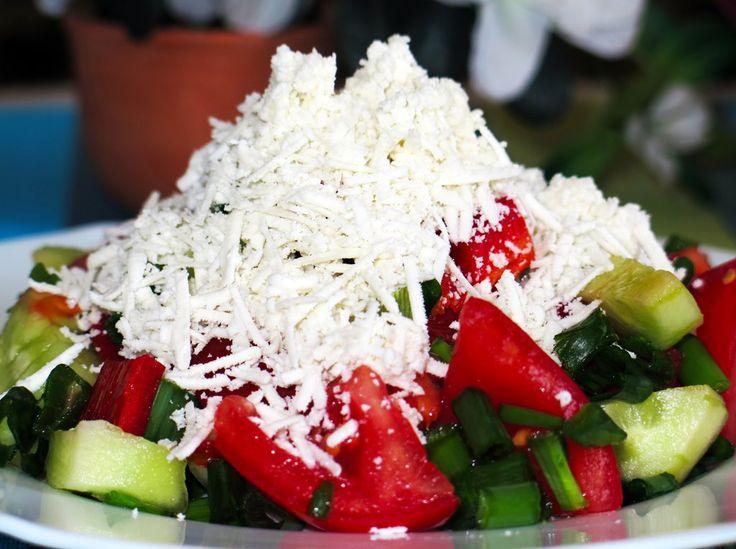 Восхитительный пастуший салат по болгарски