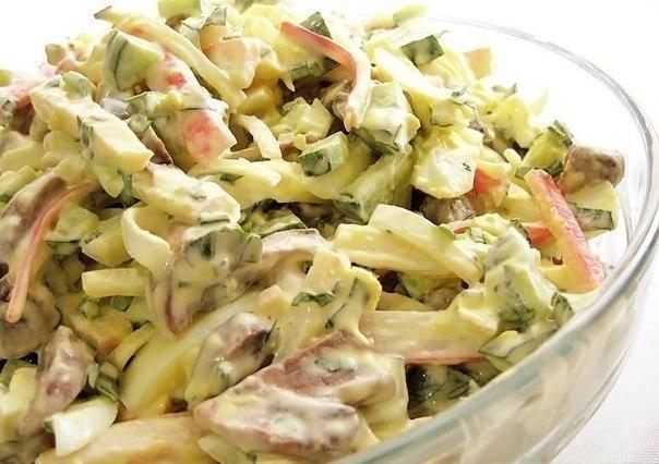 6 лучших салатов с пекинской капустой