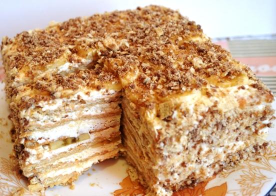 5 лучших тортов из печенья