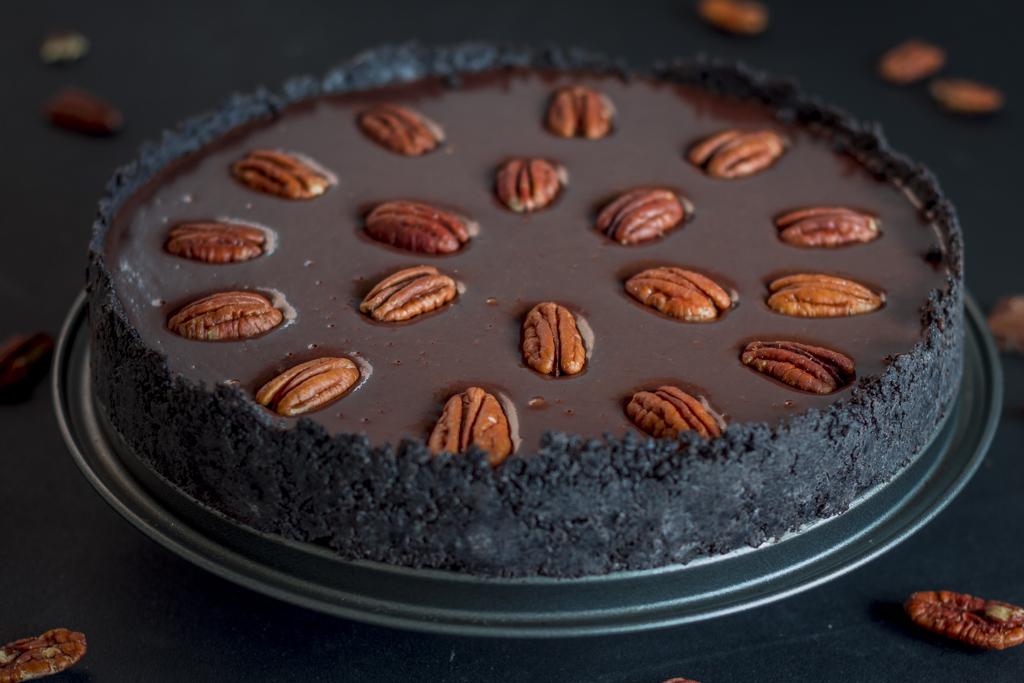 Изумительный шоколадно-кофейный торт