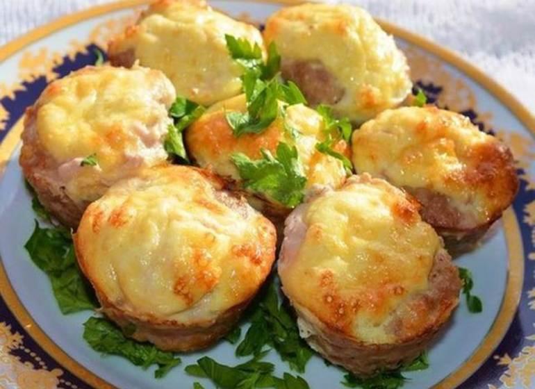 Аппетитные мясные гнезда