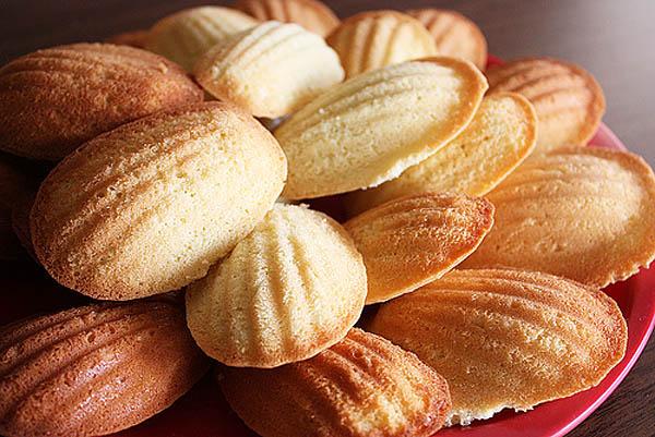 """Французское бисквитное печенье """"Мадлен"""""""