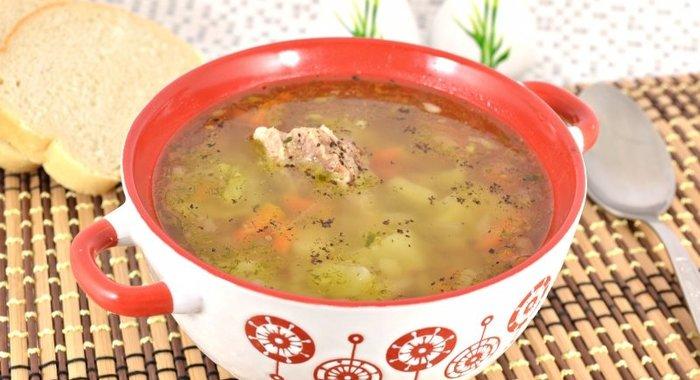 Как приготовит мясной суп