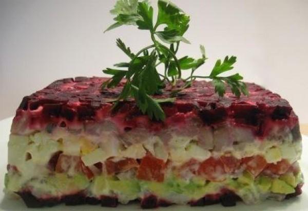 ТОП-5 салатов из свеклы