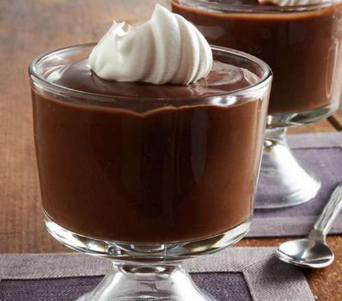 Божественный шоколадный пудинг