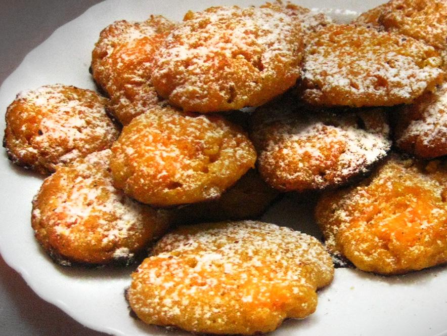 Аппетитное морковное печенье