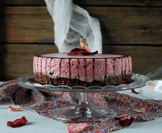 """Изумительный торт """"Вишневое удовольствие"""""""