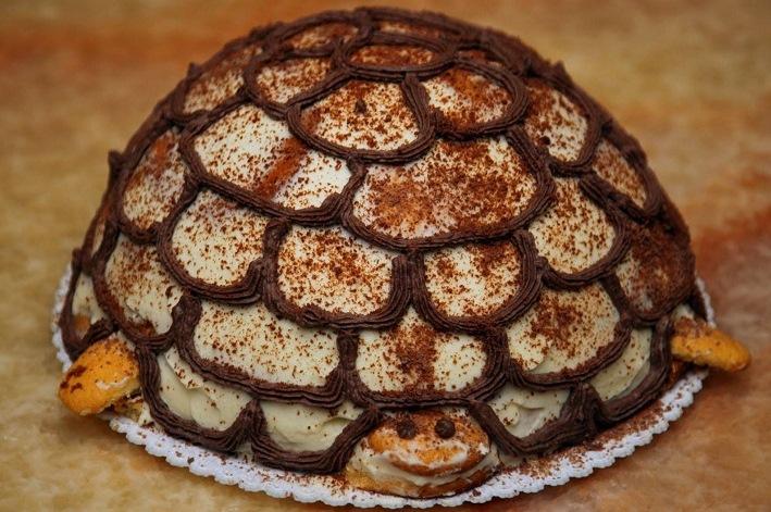 Необыкновенно вкусный торт «Черепаха»