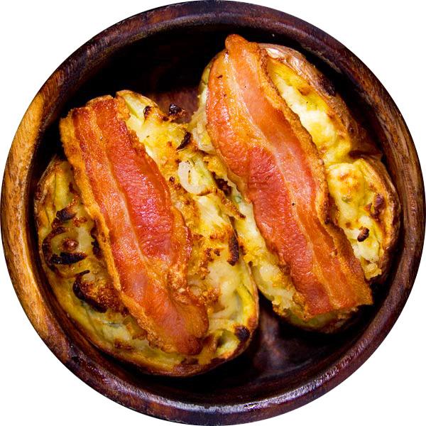 Супер закуска из запеченного картофеля
