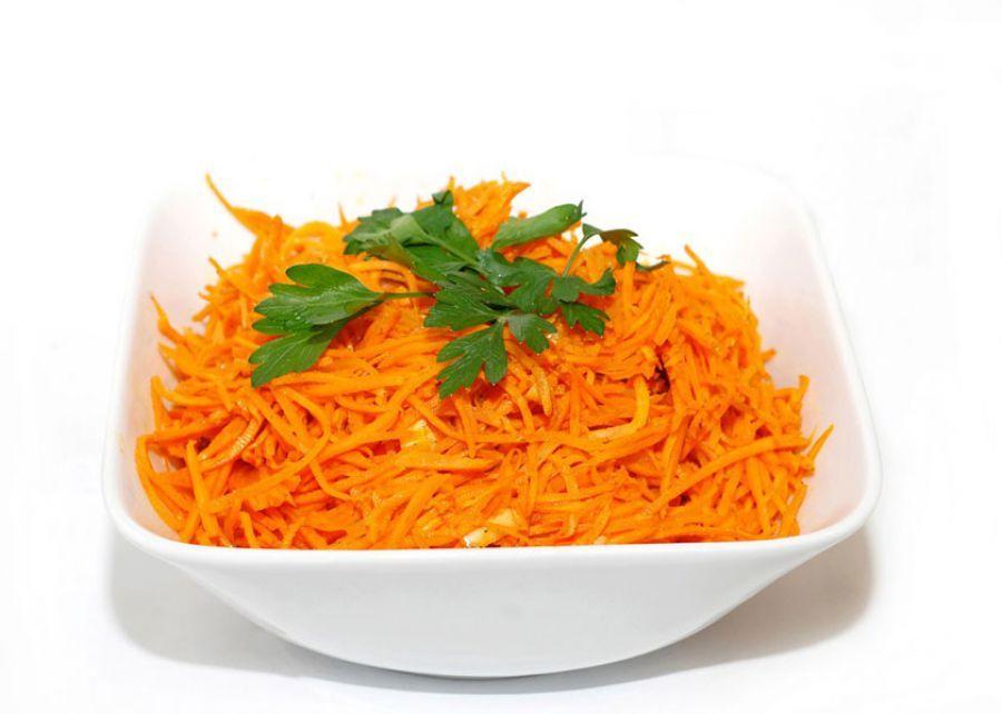 Салат по-корейски из моркови в домашних условиях
