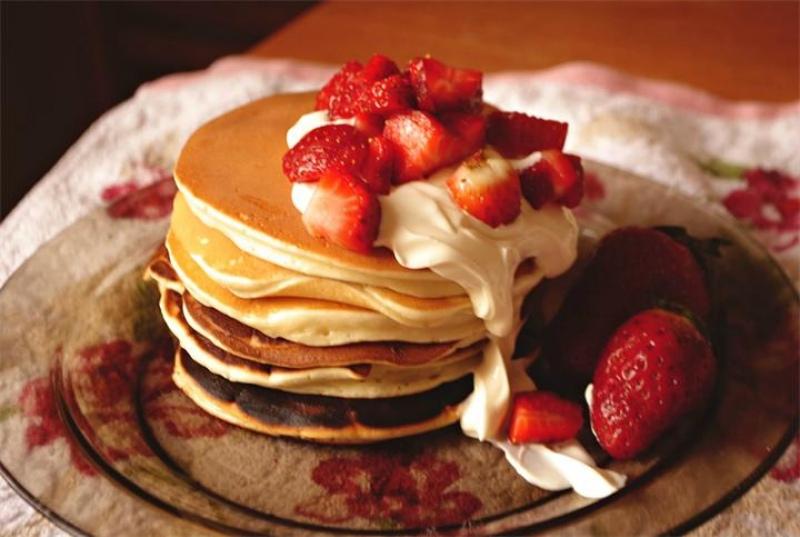 Вкуснейшие панкейки для завтрака