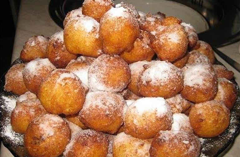 Вкуснейшие пончики с абрикосами