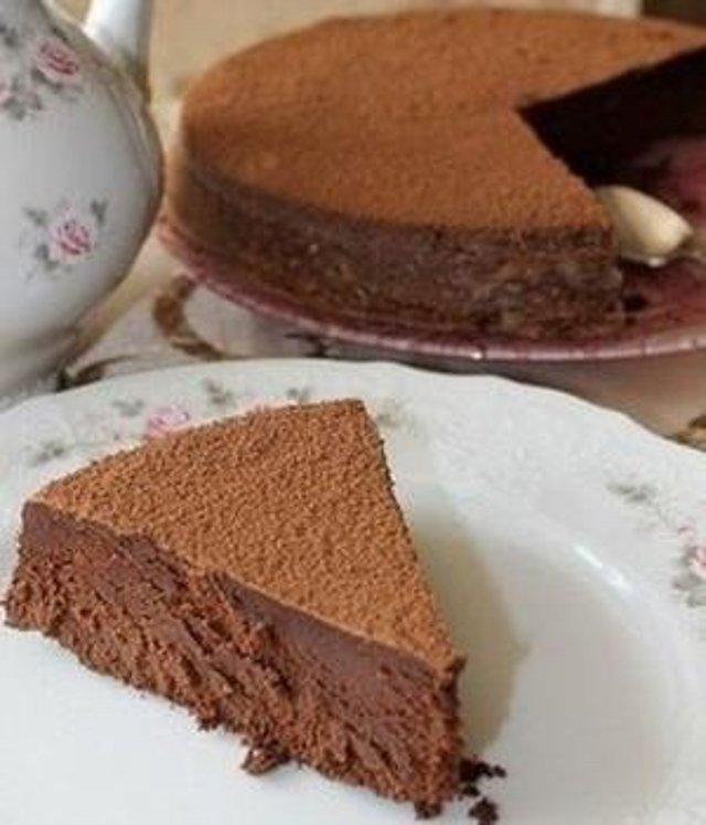 """Самый шоколадный из всех шоколадных тортов """"Ева"""""""