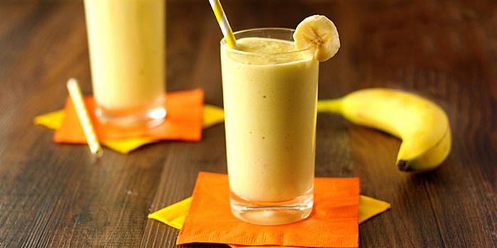Восхитительный банановый смузи