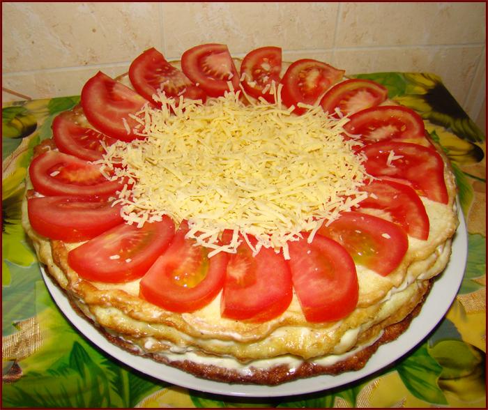 Оригинальный кабачковый торт