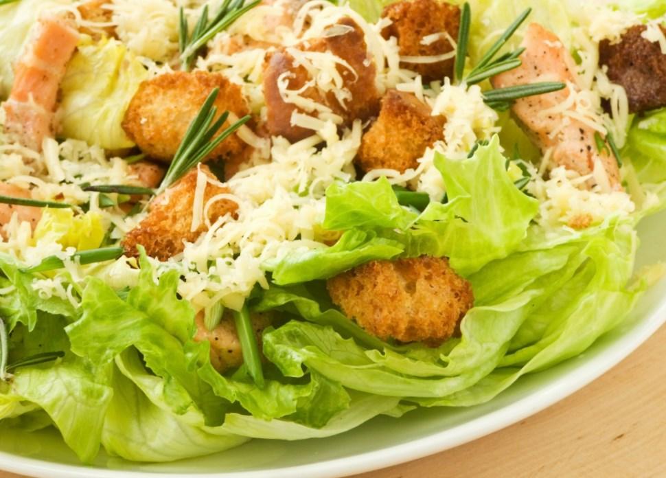 Превосходный салат «Цезарь»