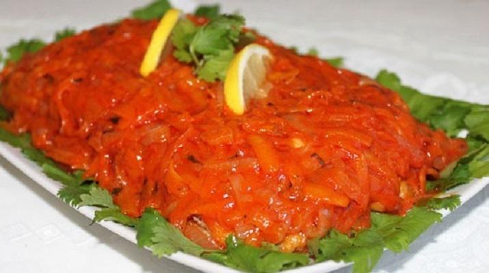 Вкусная рыба под маринадом