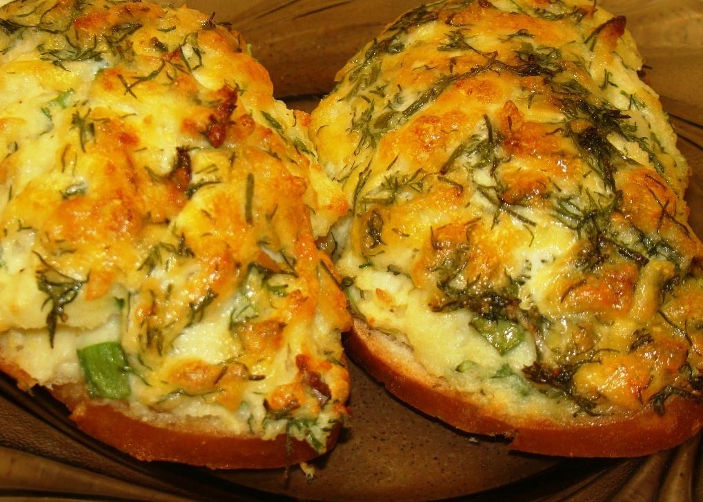 5 рецептов быстрых горячих бутербродов
