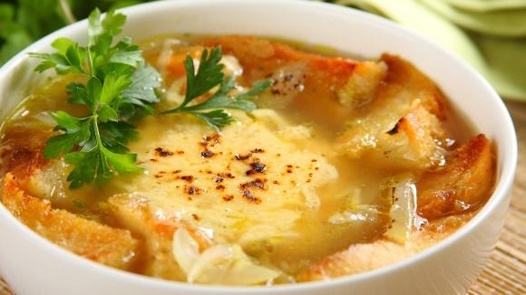 Волшебный французский луковый суп