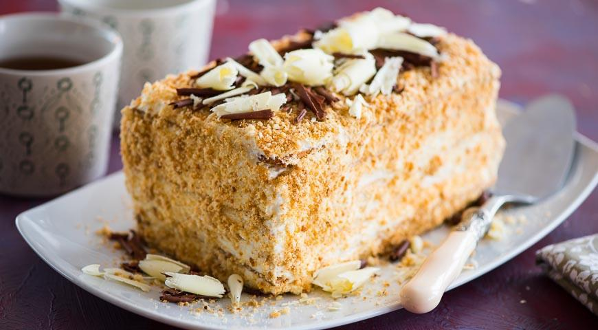 Торт наполеон рецепт с фото пошагово с