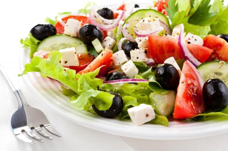 Изысканный греческий салат