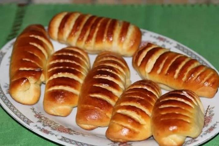 Оригинальные булочки с заварным лимонным кремом