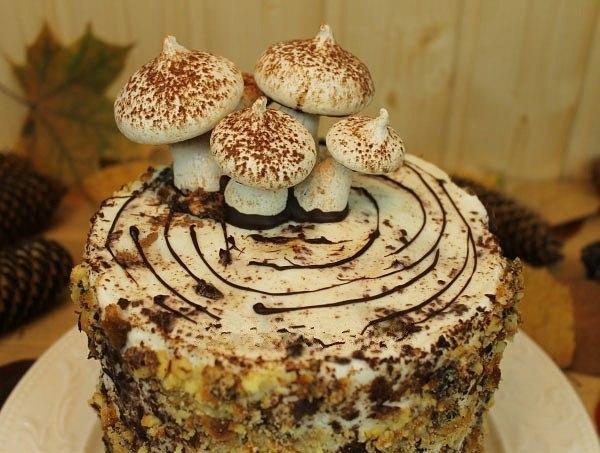 """Известный торт """"Трухлявый пень"""""""