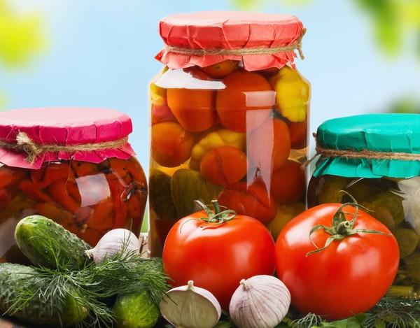 Необычная овощная заготовка - помидоры в желе