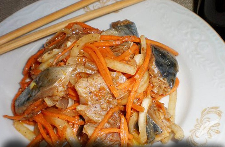 Остренькая и безумно вкусная рыба «Хе»