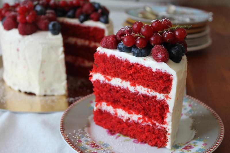 """Самый вкусный торт в мире """"Красный бархат"""""""