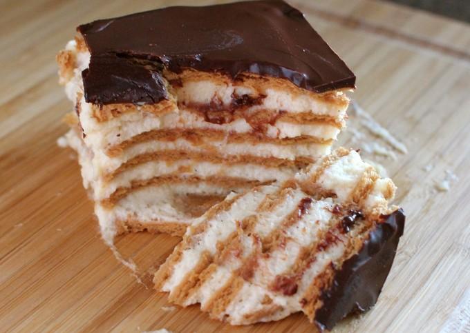 Изумительный шоколадный торт-эклер