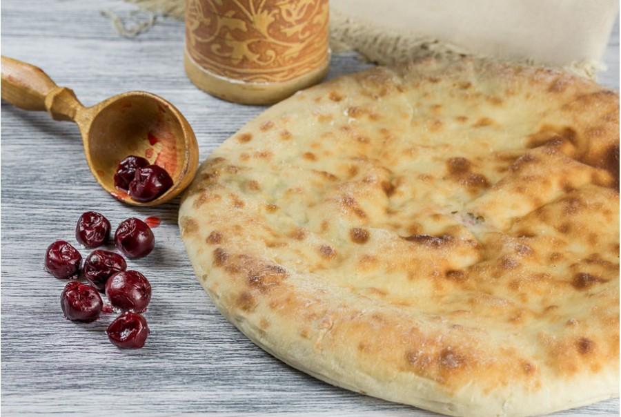 """Супер вкусный осетинский пирог с вишней """"Балджин"""""""