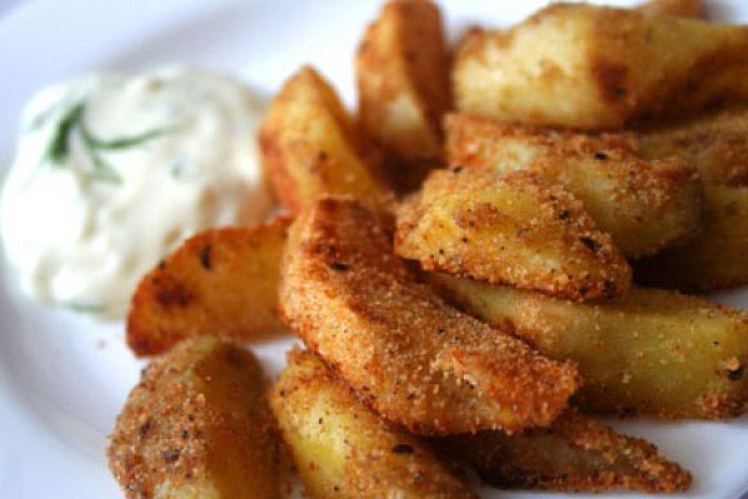 Пикантный картофель в соевом соусе