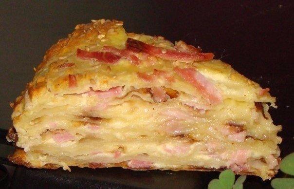 Обалденный сырный пирог