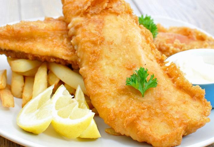 Невероятно вкусная рыба в кляре по-китайски
