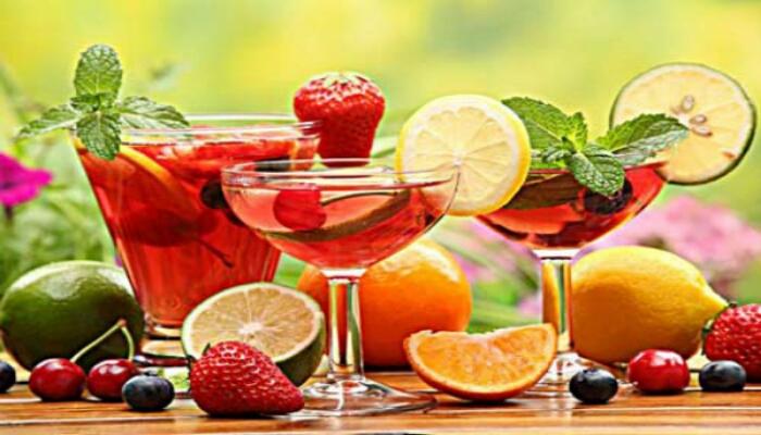 Вкуснейший летний фруктовый пунш