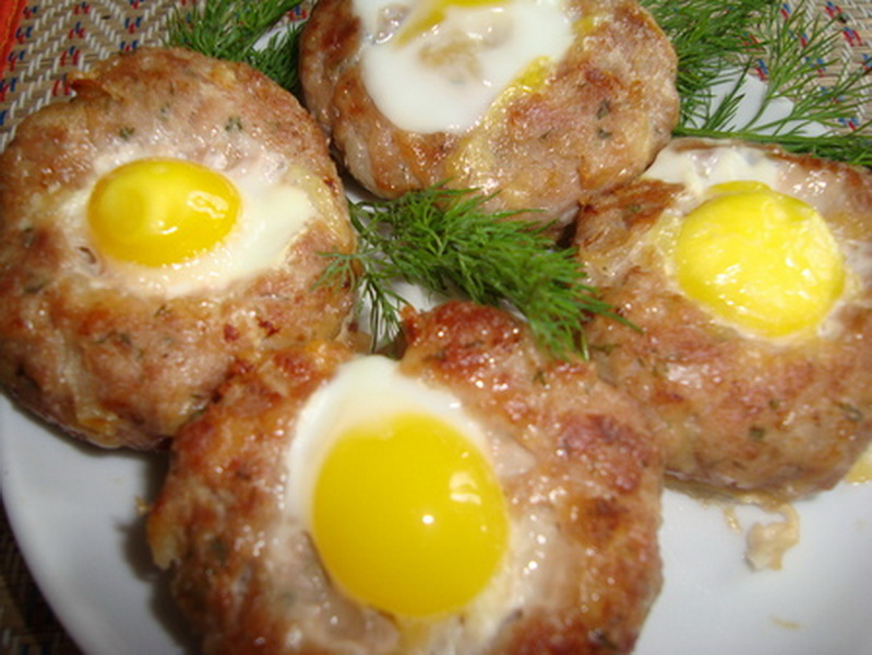 Зразы с яйцами рецепты