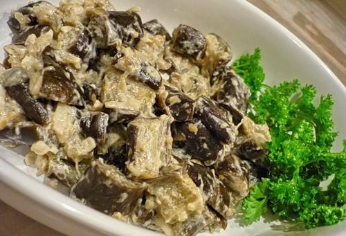 Вкуснейшие баклажаны в сметане, как грибы