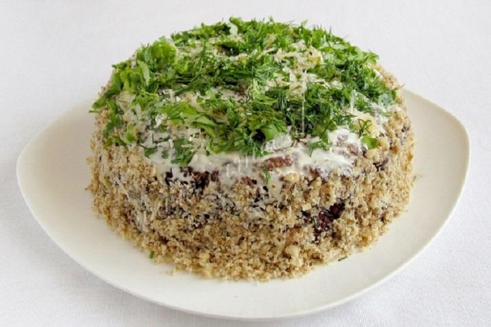 Вкуснейший рецепт закусочного торта из баклажанов