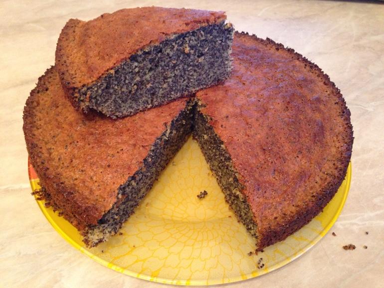 Вкуснющий маковый пирог без муки