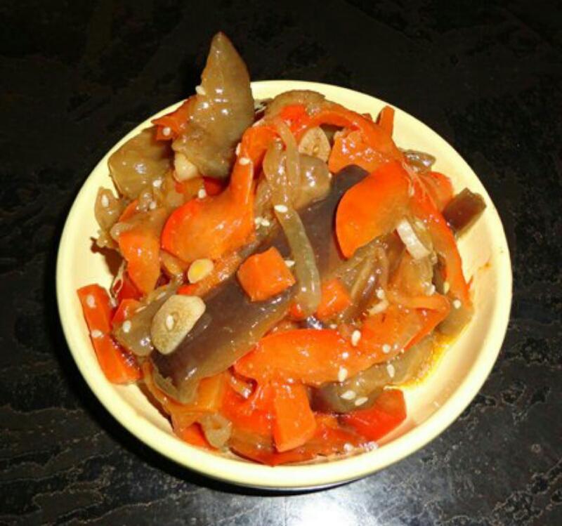 Обалденная овощная закуска