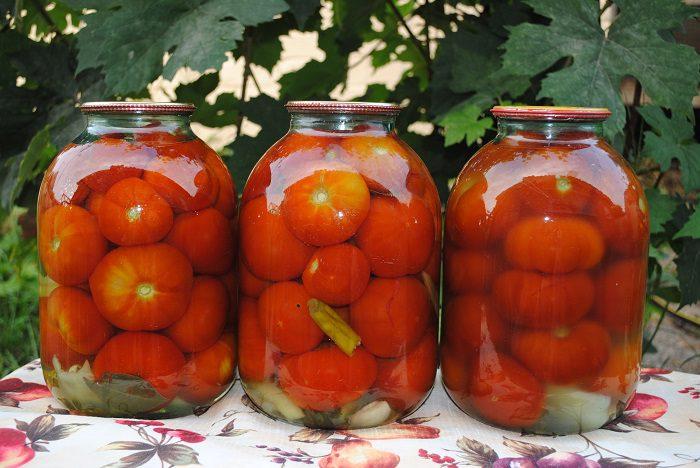 Сладкие помидоры по рецепту бабушки