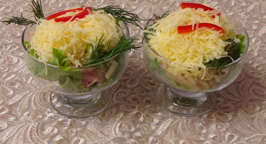 Изумительный салат «Шторм»