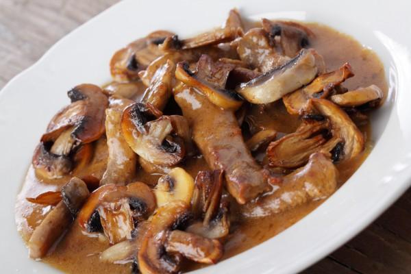 Рецепт блюд из свинины с грибами фото