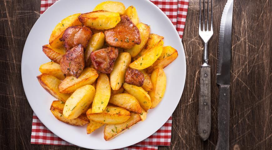 Жарим идеальную картошку -  6 секретов