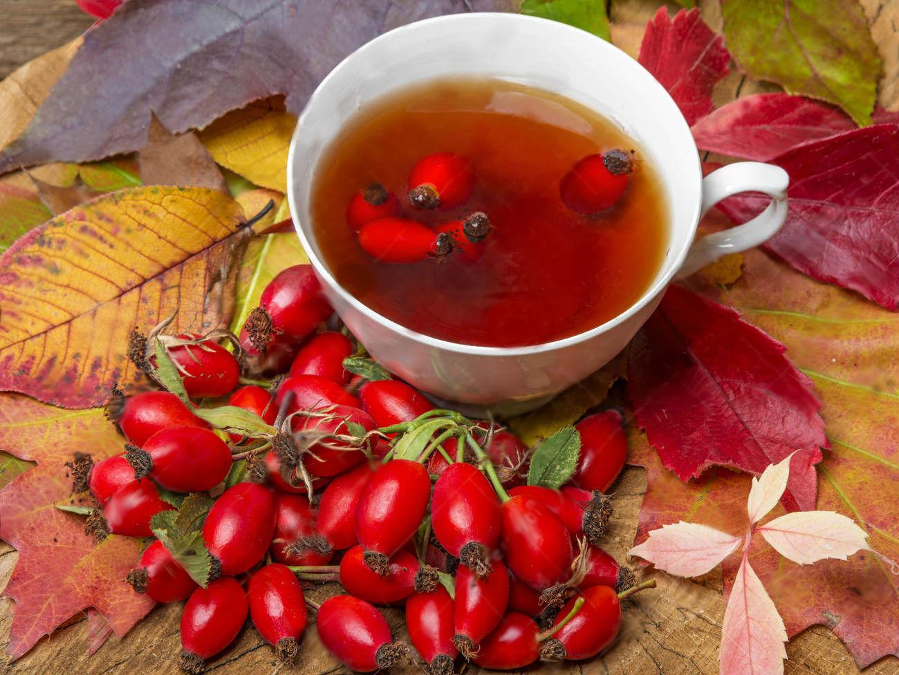 Витаминный чай, как в детском саду