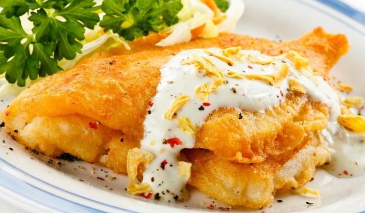 Необыкновенно вкусная запеченная рыба в сырном кляре
