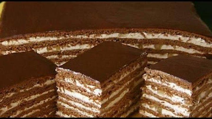 Очень вкусный торт «Нутелла»